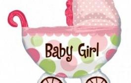 balon-folie-figurina-carucior-fetita