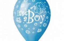 set-100-baloane-asortate-inscriptionate-it-s-a-boy