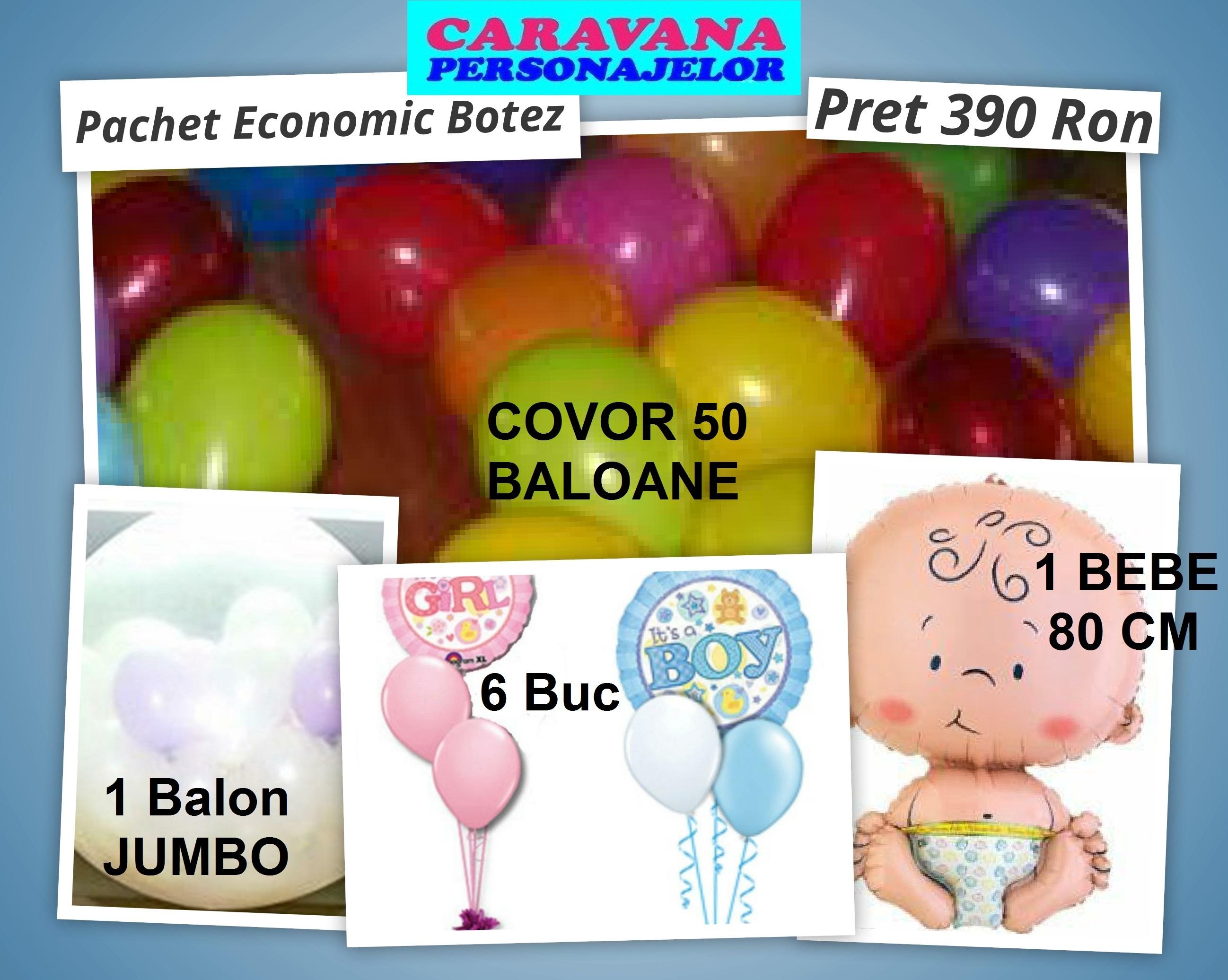BALOANE pachet BOTEZ economic